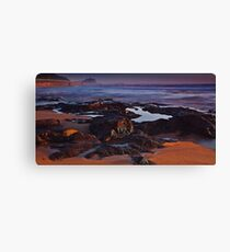 nobby's foreshore Canvas Print