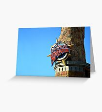 Islands of Adventure Greeting Card
