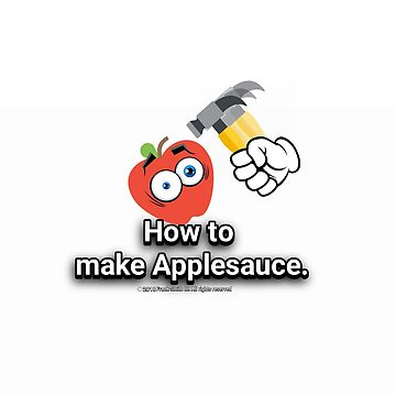 How to make Applesauce! by FrankSmithIII