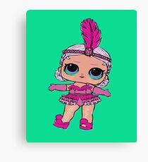 lol Surprise Doll Showbaby Gifts LOL Dolls Kids Shirt Canvas Print
