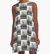 Frozen tree A-Line Dress