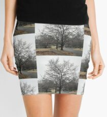 Frozen tree Mini Skirt
