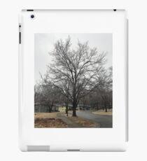Frozen tree iPad Case/Skin