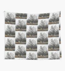 Frozen tree Wall Tapestry