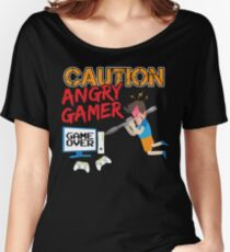 ANGRY GAMER Women's Relaxed Fit T-Shirt