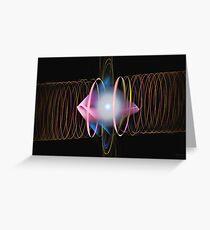 'Dilithium Surge' Greeting Card