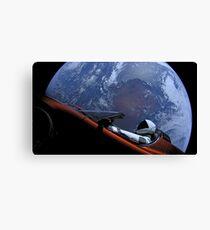 SpaceX's Starman Canvas Print