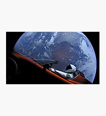 SpaceX's Starman Photographic Print
