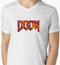 Doom Men's V-Neck T-Shirt