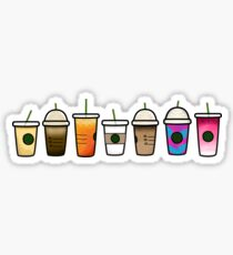 Mini starbucks drinks Sticker