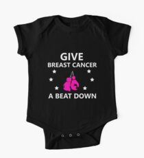 Funny Breast Cancer Awareness Month T-Shirt for Women Girls  One Piece - Short Sleeve
