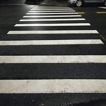 #Zebra #crossing, New York, #Manhattan, #Brooklyn, New York City, architecture, street, building, tree, car,   by znamenski