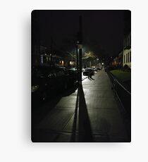 New York, Manhattan, Brooklyn, New York City, architecture, street, building, tree, car,   Canvas Print