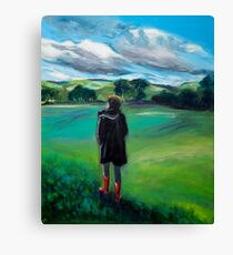 Those Boots Were Made For Walking Canvas Print