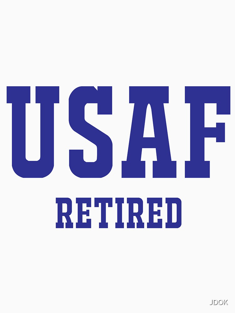 Retired United States Air Force USAF by JDOK