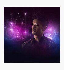 Magnus Bane: Galaxy Monogram Photographic Print