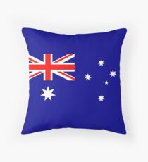 Flag of Australia, blue bg Floor Pillow