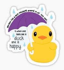 Duck Sticker