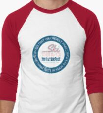 Go That Way Really Fast Men's Baseball ¾ T-Shirt
