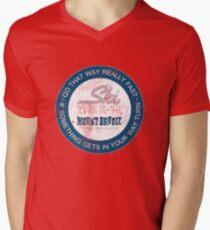 Gehen Sie so schnell T-Shirt mit V-Ausschnitt für Männer