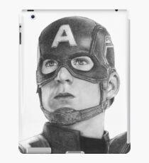 Cap drawing iPad Case/Skin