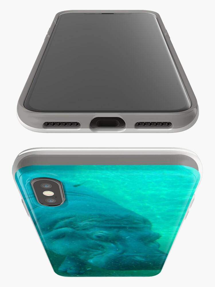 Alternative Ansicht von hippo love iPhone-Hülle & Cover