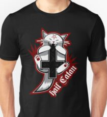 Hail Catan - Satanic Cat Slim Fit T-Shirt