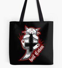 Hail Catan - Satanic Cat Tote Bag