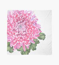 Pink Chrysanthemum Scarf