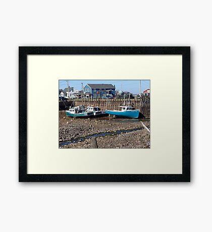 Closer Look at Low Tide Framed Print