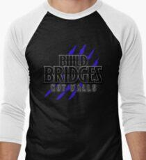 BUILD BRIDGES NOT WALLS 2.0 Men's Baseball ¾ T-Shirt