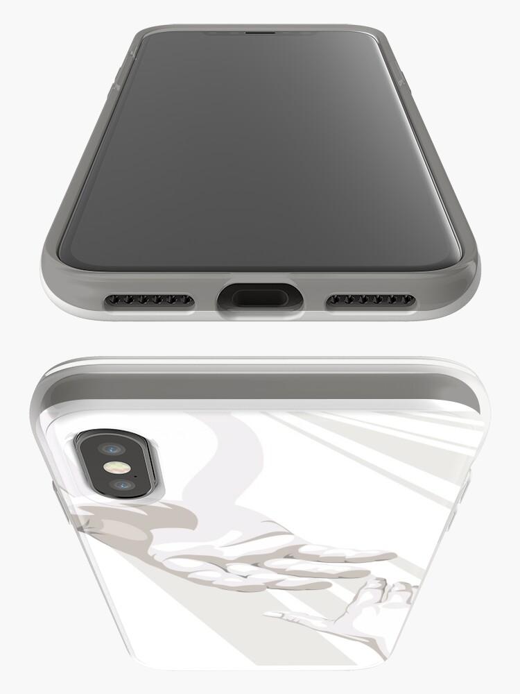 Alternative Ansicht von Hand Gottes iPhone-Hülle & Cover