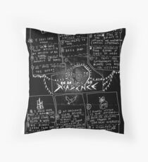 PROGRESS IN AN AGE OF DECADENCE (floor sheet) Throw Pillow