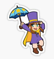 Hat Girl Sticker
