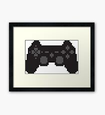 Pixel PS3 Controller Framed Print