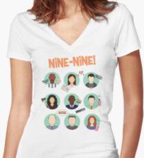 Brooklyn Nine Nine Women's Fitted V-Neck T-Shirt