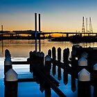 0784 Docklands at Dusk    [e] by DavidsArt