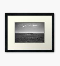 The Fylde Coast - A View  Framed Print