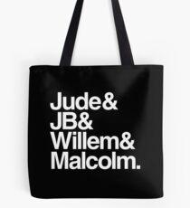 JB & Jude & Willem & Malcolm Tote Bag