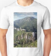 abandoned fortress landscape Unisex T-Shirt