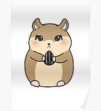Lil hamster Poster