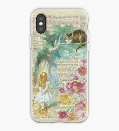 Alicia en el país de las maravillas Vinilo o funda para iPhone