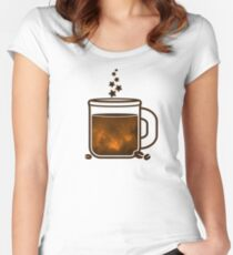 Sleepless nights Women's Fitted Scoop T-Shirt