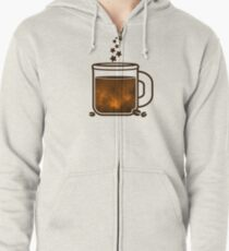 Sleepless nights Zipped Hoodie