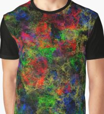 Fiery Colors Graphic T-Shirt
