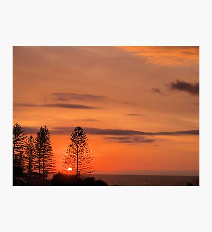 Kings Beach Sunrise Photographic Print