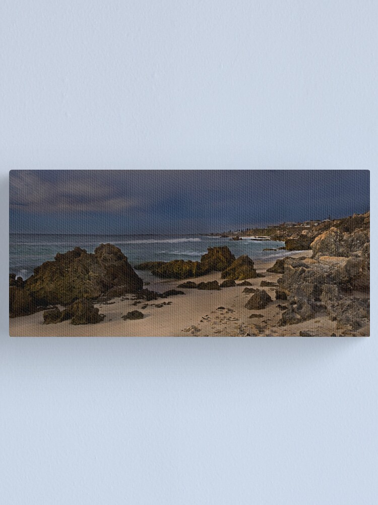 Alternate view of In coming storm Canvas Print