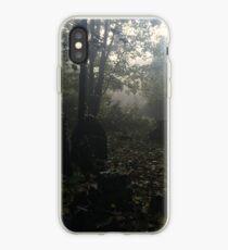 Misty graveyard iPhone Case
