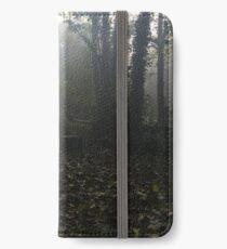 Misty graveyard iPhone Wallet/Case/Skin