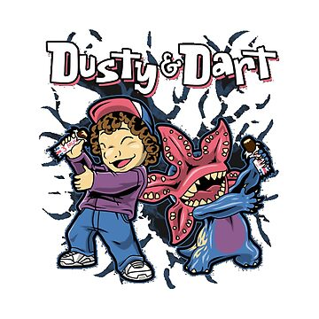 Dustin & Dart from Stranger Things by LookasPT